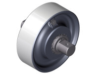 Wheel bearings without rims